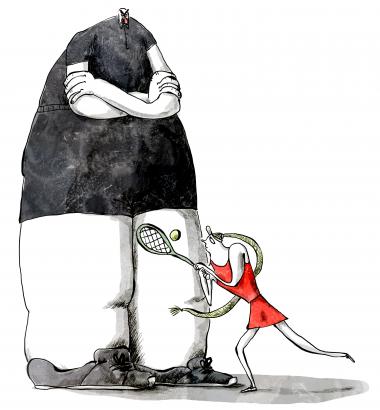Illustration: Mia Mottelson/iBureauet
