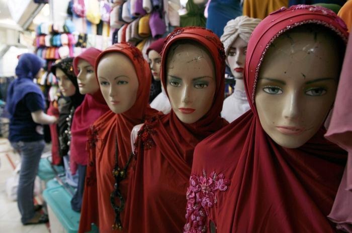 luder i jylland muslimsk tørklæde