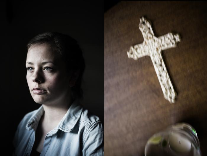 8ea743a1fc6 Tro. 26-årige Karen Storgaard studerer til jordemor og er troende kristen. '