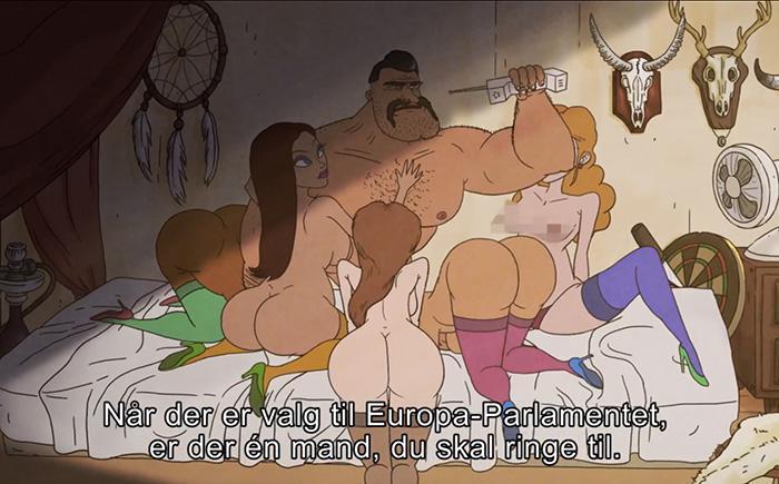Superhelt porno tegnefilm