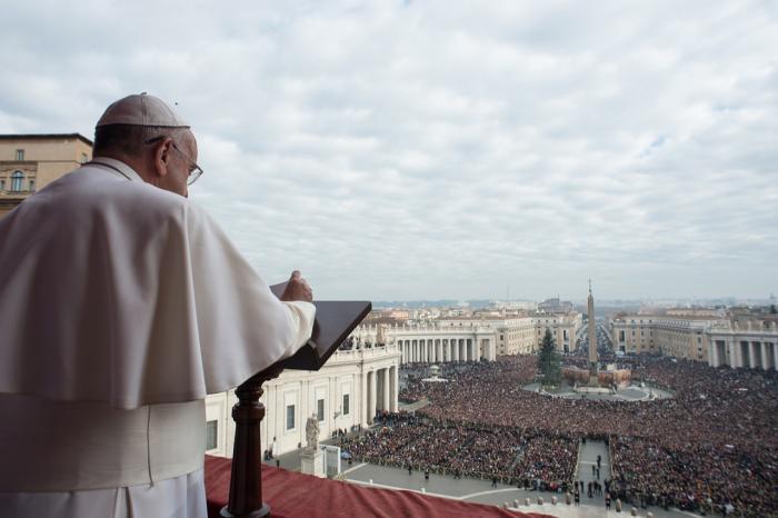 b7e11b6910db Pave Frans brugte sit traditionelle julemøde med Vatikanets regeringsorgan