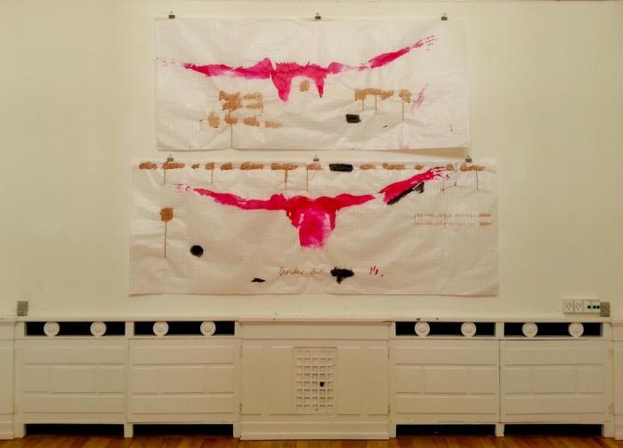 Menstruationsblod brunt