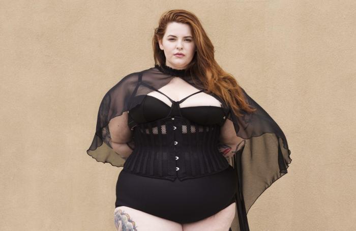 4514270cbf3e Da Tess Holliday skrev kontrakt med modeagenturet Milk Model Management