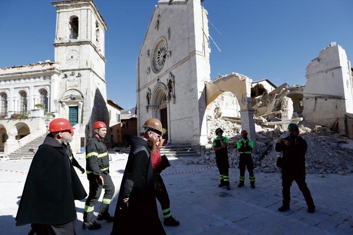 Stor jordbavning i italien