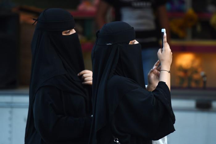 arabisk søn mor køn