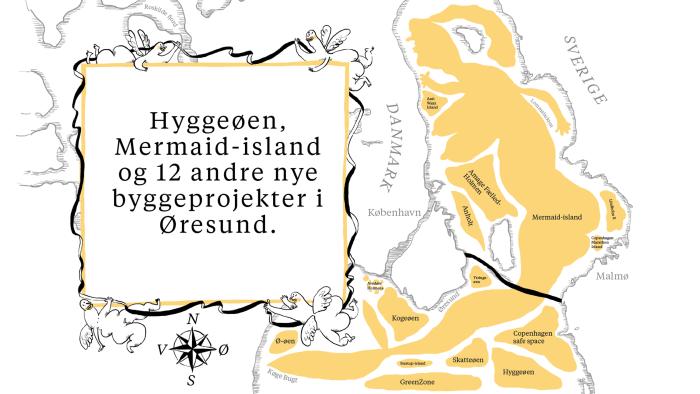 e3c31076004 Moderne Tider løfter sløret for 14 nye øer, som frem mod 2050 kan opføres  omkring