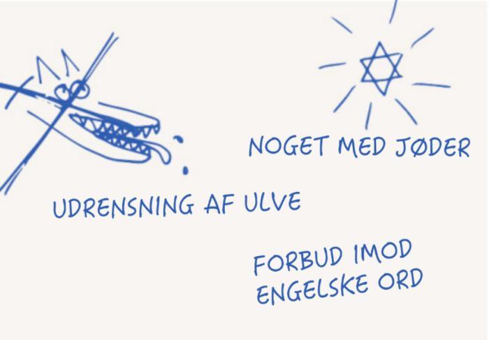 hvor mange danske ord findes der