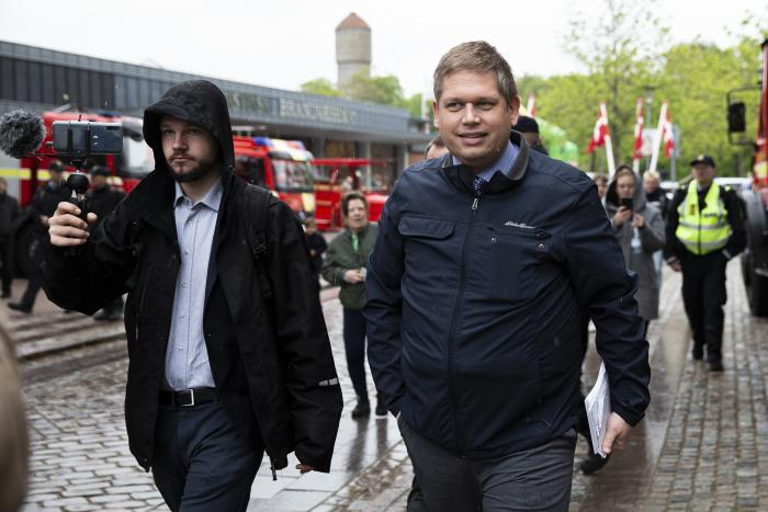 9de001e6a45 Lederen af partiet Stram Kurs, Rasmus Paludan, fik for nylig sin personlige  facebookprofil .