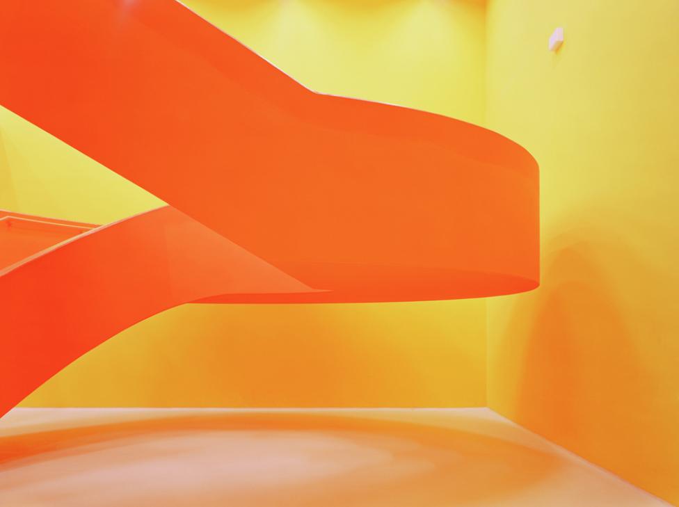 Aufgang. Fra serien LPDE © Julian Faulhaber/VG Bildkunst