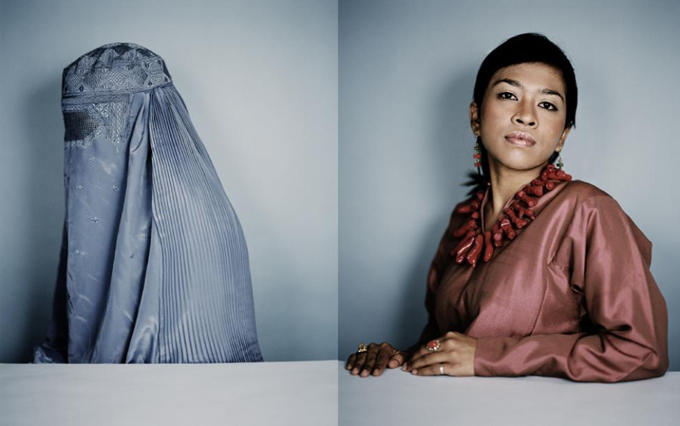 Fra serien 'Hijab On/Off' © Francisco Guerrero