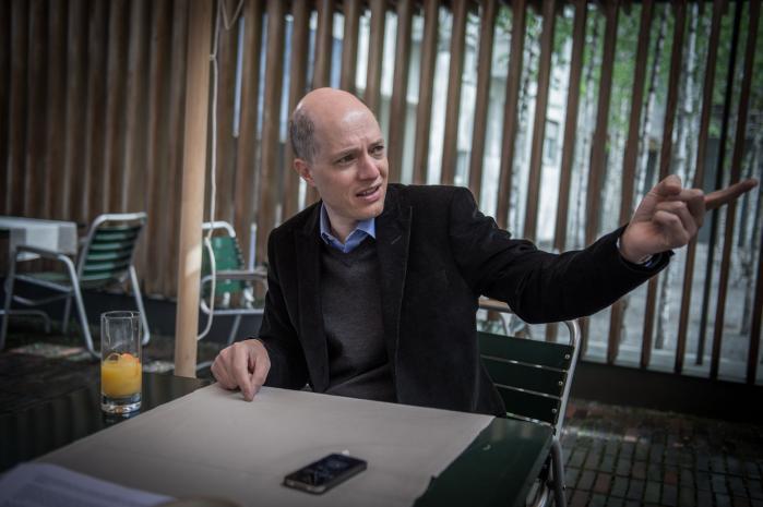 Alain de Botton, forfatter og stifter af The Philosophers Mail