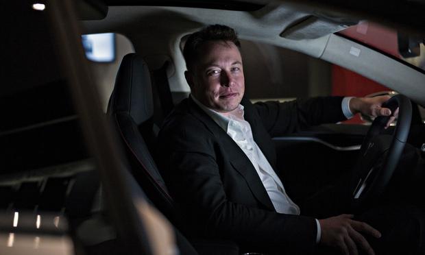 Elon Musk, administrerende direktør hosTesla