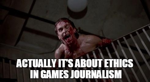 Mænd der hader kvinder. Kvinder der hader mænd. Journalister der hader etik. Etik der hader journalister. Det er svært at opsummere #GamerGate