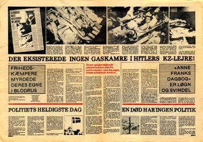 Nazisternes grusomheder er overdrevne, og 'Anne Franks Dagbog' er løgn, mener forfatteren Erik Haaest. Nu har Kunstrådet givet ham penge til sit arbejde. Selv er manden ikke i tvivl: 'Der er nye boller på suppen'