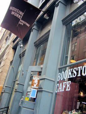 Housing Works Used Book Café, Soho, NYC