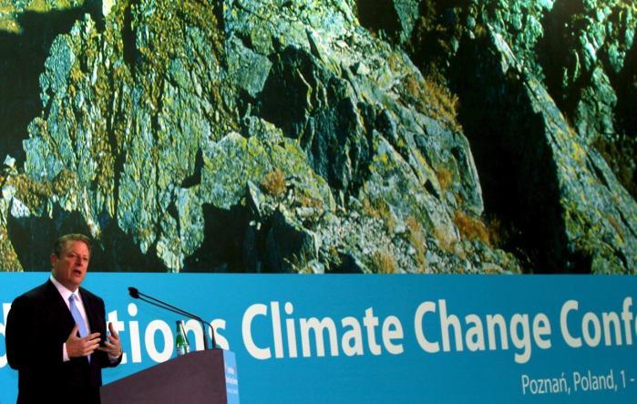 I går talte USA-s tidligere vicepræsident og Nobls Fredsprisvinder, Al Gore i Poznan i Polen og sagde, at vejen er banet for positive resultater ved klimatopmødet i København.