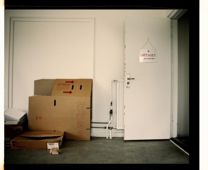 Forladt. Lidt rod i en forladt villa i Århus Vest er de sidste fysiske rester, der er tilbage af det, der skulle være verdens bedste forskningsmiljø