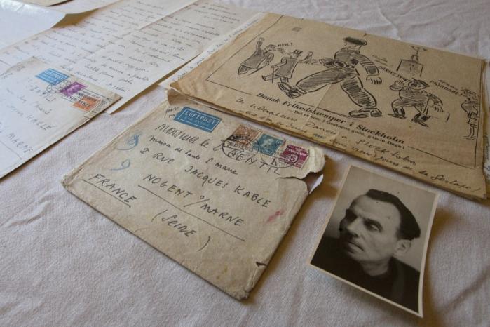 Hammerslag. Louis-Ferdinand Céline havde sit eksil i Korsør fra 1948-1951. Tidligere i år blev der i Paris afholdt auktion over 36 hidtil ukendte breve skrevet af Céline, bl.a. et brev stemplet i Danmark samt andre ejendele.