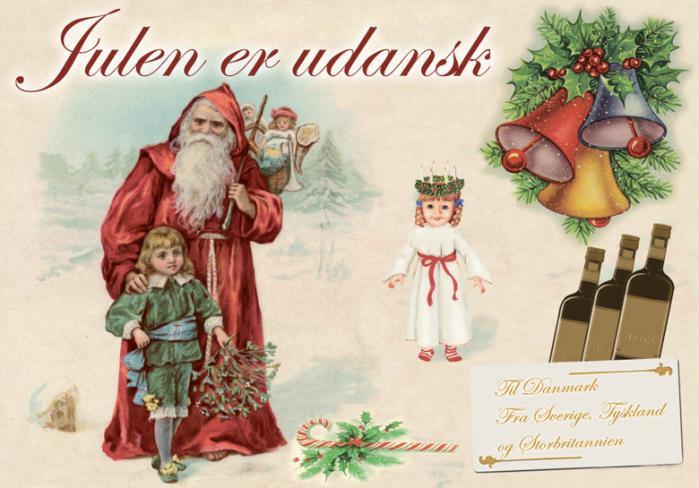 Juletræet er fra Tyskland, stråbukken fra Sverige og misteltenen fra Storbritannien. Vores gamle danske jul er hverken særlig gammel eller særlig dansk. Men den er hamrende nostalgisk og udtrykker en kollektiv længsel efter en tid, som aldrig har været