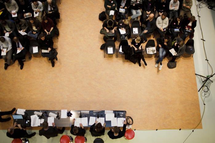 250 interesserede borgere var i går mødt op på i DR-Byen til Informations høring om ACTA.