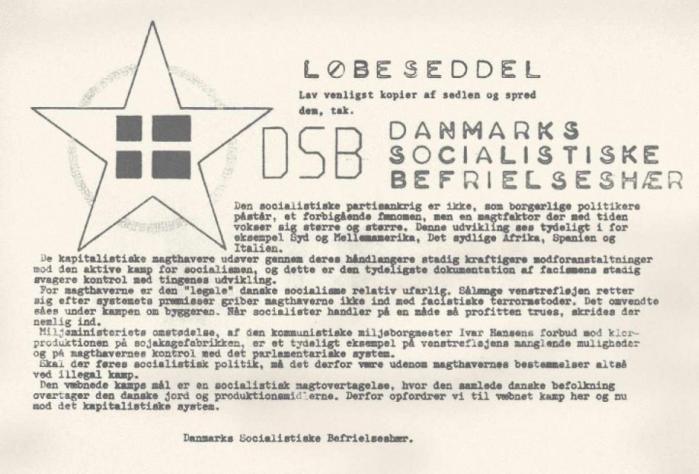 Aarhus var et slaraffenland for idealister, naivister og bevæbnede fundamentalister i 1980'erne. Dette er er historien om 'Danmarks Socialistiske Befrielseshær', som måske var identisk med den senere så kendte Blekingegadebande, og en personlig nær-frontberetning, der strækker sig over 30 år