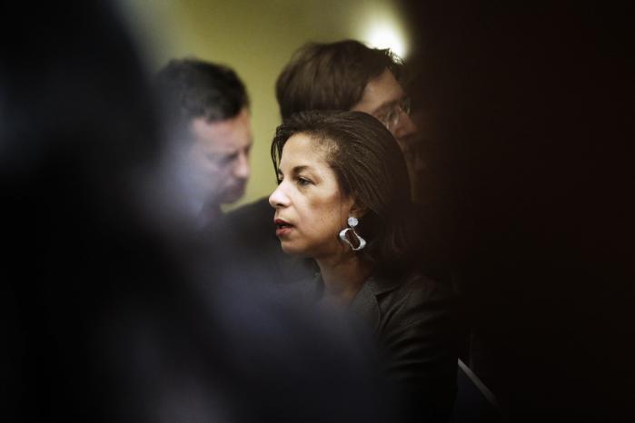 USA's FN-ambassadør, Susan Rice, optegnede i onsdags mulighederne for en løsning i Syrien. Den mest sandsynlige, pointerede hun, var den, at der blev handlet uden om FN.