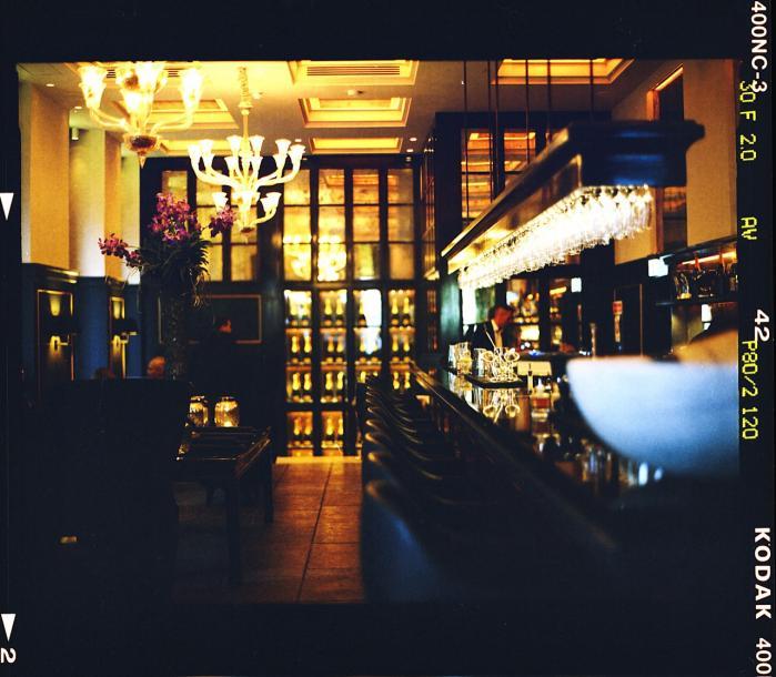 Champagnebaren Balthazar, København.