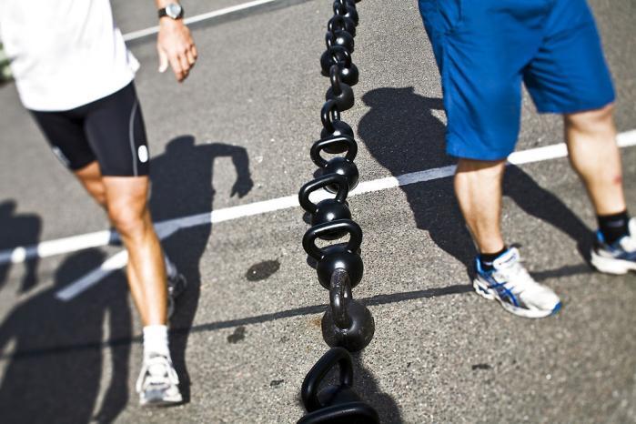 For langt de fleste danskere udgør motion stadig et naturligt supplement til en sund livsstil. Men i visse træningsmiljøer kammer den fysiske udfoldelse over og går fra trang til tvang. Foto: Scanpix
