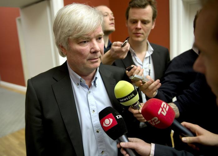Venstres socialordfører, Eyvind Vesselbo, anerkender ikke ekspertudvalgets og dermed regeringens nye fattigdomsgrænse. Arkivfoto: Keld Navntoft