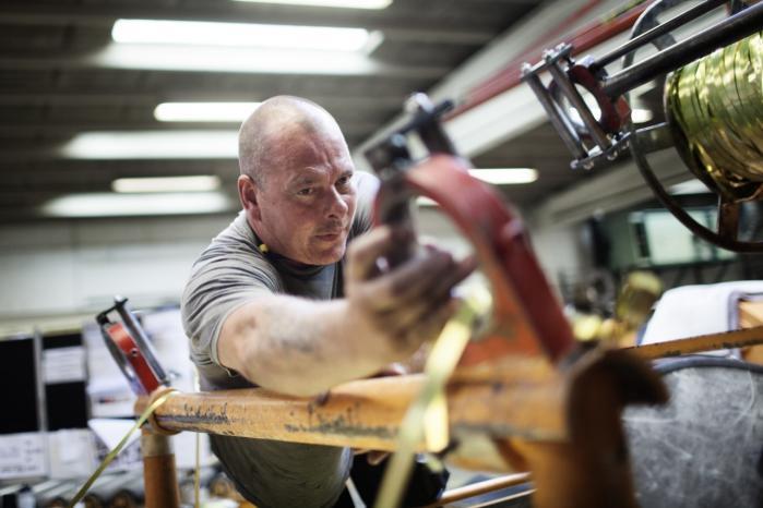 Selv om 10.000 personer har fået et job inden for det seneste år, er det ikke ensbetydende med, at det går ubetinget godt på det danske arbejdsmarked. For i samme periode er antallet af de svageste kontanthjælpsmodtagere vokset med 6.300. Arkiv