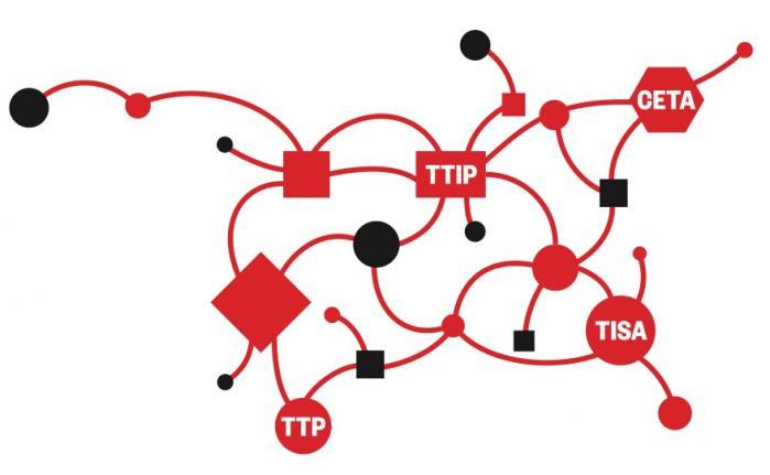 Ligesom sin globale og europæiske paraplyorganisation er danske FOA stærk kritisk over for frihandelsaftalerne, som netop nu forhandles. Vi frygter for Danmarks ret til at styre sin offentlige sektor, siger forbundsformand Dennis Kristensen