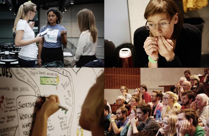 Der var sang, taler og løsningslaboratorier de to dage, konferencen Economy, People & Planet 2014 samlede unge som ældre i København. 'Det kan lykkes. Fordi vores ideer er rigtige,' sagde en omstillingspioner.