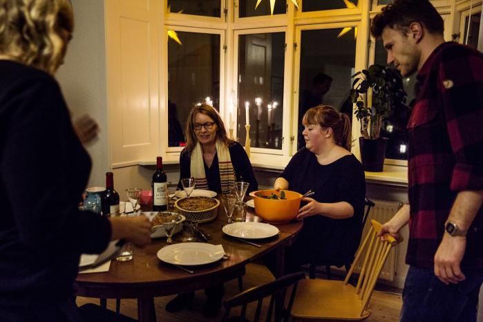 Den 15. januar mødtes mennesker til 60 middagsselskaber rundt om i hele landet for at tale om fremtiden med folk, der ikke nødvendigvis lignede hinanden. Et initiativ, der kan blive samfundsomvæltende, hvis det fortsættes, mener en deltager.