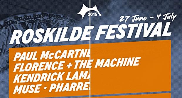 Roskilde Festivals plakat med og uden kvindelige kunstnere - se mere nederst i artiklen.