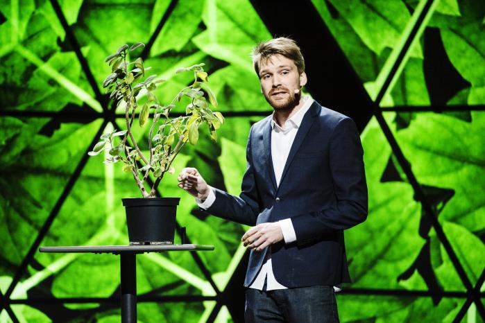 Johan Andersen Ranberg vandt lørdagens Ph.d. Cup for bedste live-formidling af sin ph.d.-afhandlingen
