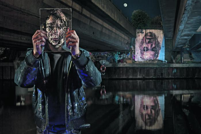 Fra den 13. juni – 29. juli vil den være at opleve i Øksnehallen, som præsenterer 122 fotografier i 2x3 m. størrelse. Som optakt til udstillingen vil seks af de fotograferede kunstnere, heriblandt Borondo, male store vægmalerier på Vesterbro i København.www.sorensolkaer.com