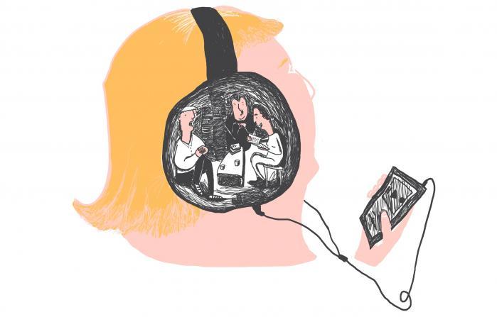 Radiobølgen har været over os i et godt stykke tid efterhånden, men 2015 blev det år, hvor litteraturen endelig kom til orde i den danske podcastsfære. Spørgsmålet er, om de nye litteraturpodcasts får udnyttet lydmediets potentialer