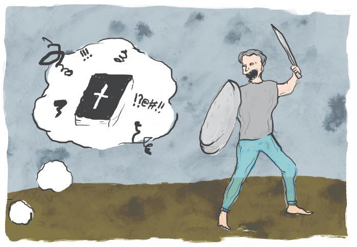 Med det moralistiske vanvid, som dommen i Helsingør og udvidelsen af blasfemiparagraffen er udtryk for, er der reelt indført kaotiske tilstande for kritik og litteratur i offentligheden, så længe religion er involveret