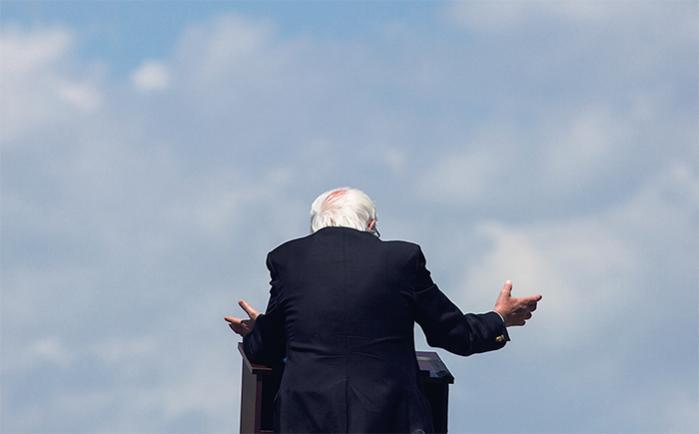 Den progressive kandidat Bernie Sanders kan ikke slå Clinton. Men hans mål er heller ikke præsidentembedet, men derimod grundlæggende at få ændret den politiske kultur – og skabt en platform for venstreorienterede blandt Demokraterne