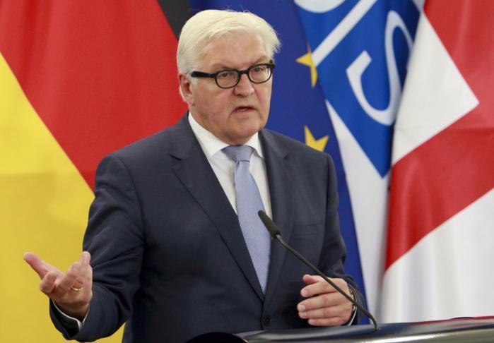 'Vi skal have et mere fleksibelt EU. Man er ikke nogen dårligere europæer, fordi man ønsker at gå langsommere frem,' siger Frank-Walter Steinmeier.