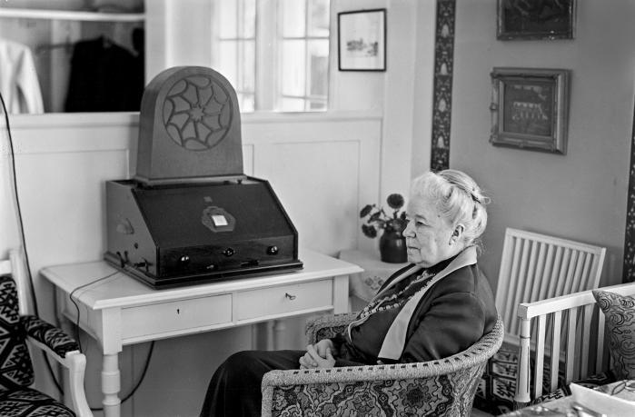 'Jeg vil gerne takke Selma Lagerlöf for friheden, for den store frihedsarv, der kommer med hende. Jeg vil gerne takke Selma Lagerlöf for forsøgene på at forstå det hele menneske, for lektionerne i empati og for den store kamp for kvinders fremtid,' skriver Sara Stridsberg.