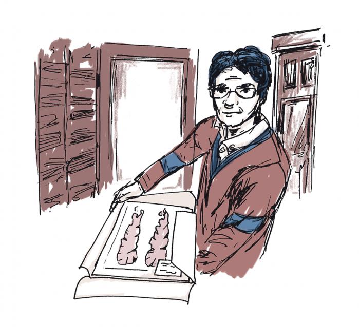 Jeg er rejst til Japan for at finde inspiration til en romankarakter, der har gjort tang til sit speciale. Måske kan jeg fange et glimt af hende i Hokkaido Universitets kolde korridorer, måske kender hun til tang-imperiet Yamamote-yama og måske har hun smagt norien frisk fra Tokyo Bay