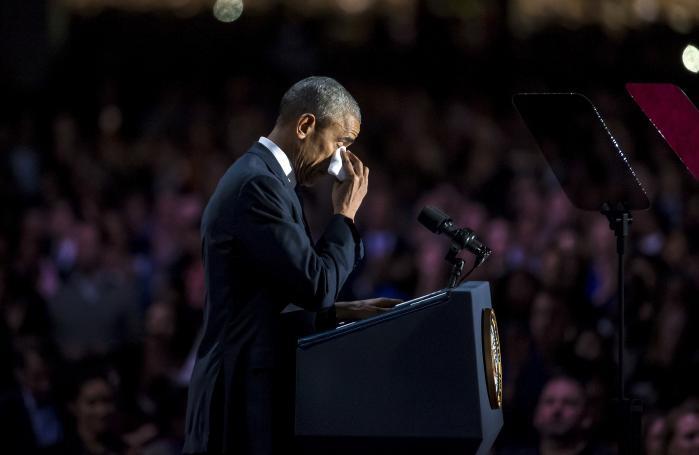 Det var i hjembyen Chicago, at Barack Obama natten til onsdag dansk tid holdt sin afskedstale som amerikansk præsident.