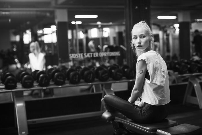 Emma Wolff er aldrig blevet behandlet for sin anoreksi, og den er nem at vedligeholde i en kultur, hvor velmenende kostråd og fitnessfiksering aldrig rigtig giver ro. Foto: Tor Birk Trads