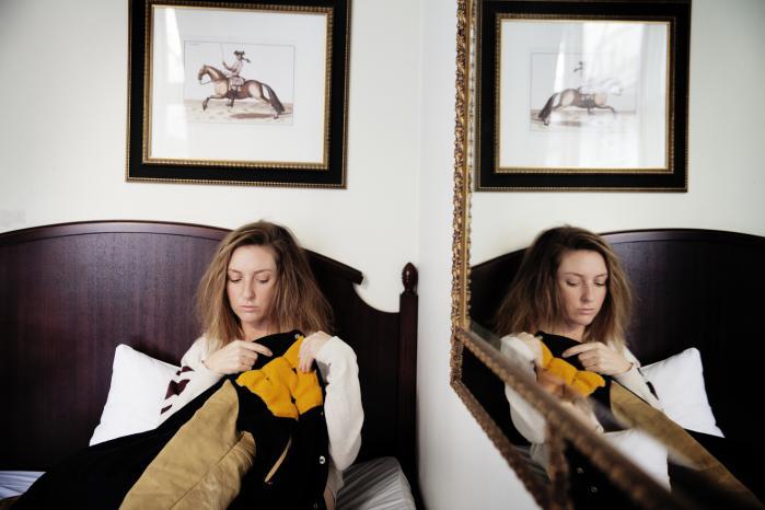 Forfattere – som her Christina Hagen – er så meget med i værkerne, at de i princippet må betragtes som fiktive figurer, mener kronikørerne Camilla Schwartz og Jon Helt Haarder