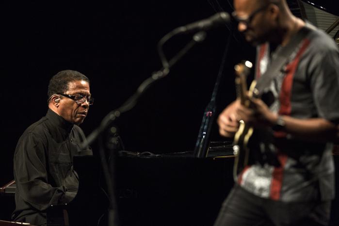 Herbie Hancock spillede i DR's Koncerthus torsdag den 13. juli.