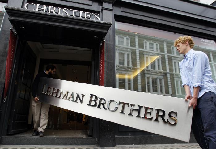 Den 9. august 2007 udsendte den franske storbank BNP Paribas en pressemeddelelse, derblev startskuddet til de finansielle investorers vilde flugt fra markedet og til nedturen et år senere for Lehman Brothers og en stribe andre store banker og kreditinstitutioner. Arkivfoto