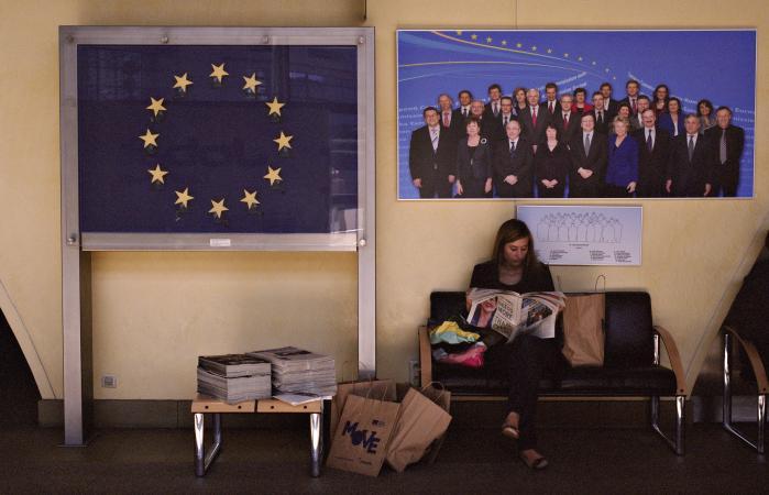 De europæiske befolkningerssyn på EU danner afsættet for iværksættelsen af det projekt, man følger i 'Die Hauptstadts' hovedspor.