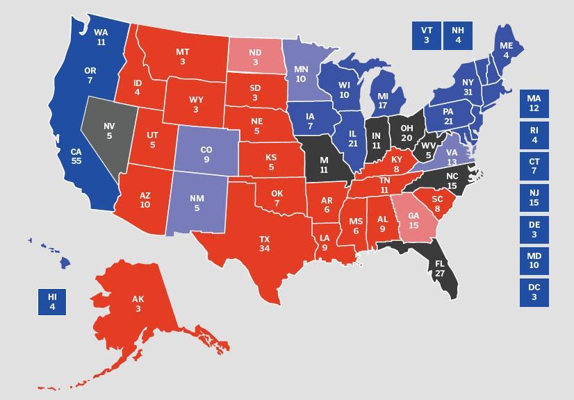 Hvor Mange Stater