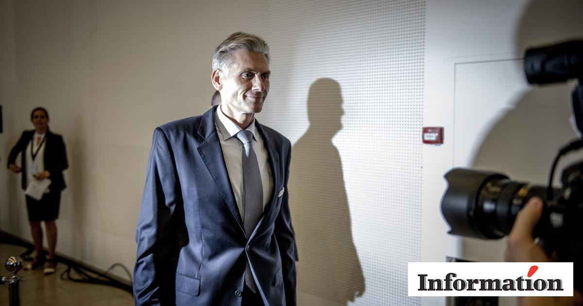 Dansk minister sparkad